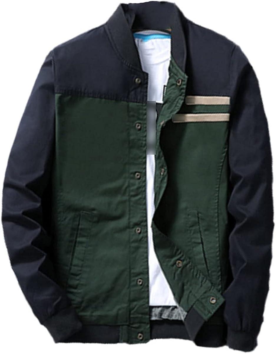 Autumn Men's Bomber Jacket Fashion Hip-Hop Slim-Fitting Bomber Jacket Baseball Windbreaker