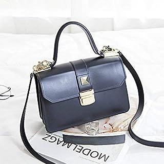 Shoulder Bag Women'S/Fashion Handbag/All-Match/One Shoulder Hand Satchel Lock Small Ladies Bag Small Fresh Elegant Hand Ladies Bag Handbag Clutch (Color : Black)