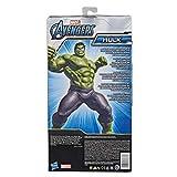 Hasbro E7475 Marvel Avengers Titan Hero Series Blast Gear Deluxe Hulk ActionFigur, 30 cm Spielzeug,...
