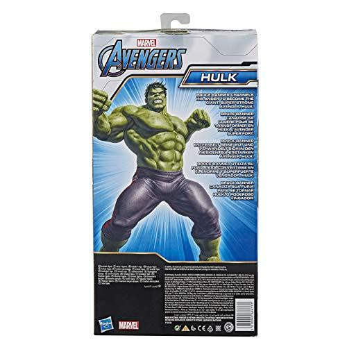 Hasbro E7475 Marvel Avengers Titan Hero Series Blast Gear Deluxe Hulk ActionFigur, 30 cm Spielzeug, inspiriert...