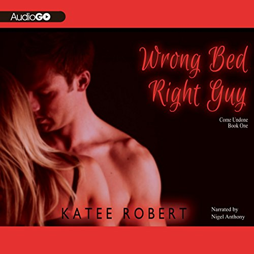 Wrong Bed, Right Guy audiobook cover art