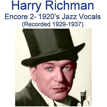 Encore 2 (1920's Jazz Vocals) [Recorded 1929-1937]