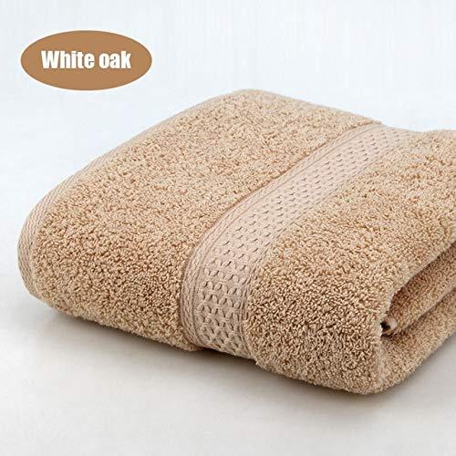 Heliansheng Toalla de baño Toalla Grande súper Absorbente de algodón 70 * 140 Toalla Gruesa Suave y cómoda -C12-70x140cm