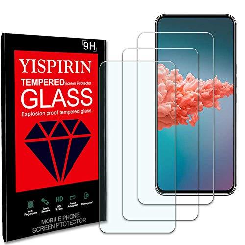 YISPIRIN (2 Stück) Panzerglas Schutzfolie für ZTE AXON 20, 9H Festigkeit Anti-Kratzer Schutzglas, Bläschenfrei, HD Bildschirmschutzfolie für ZTE AXON 20