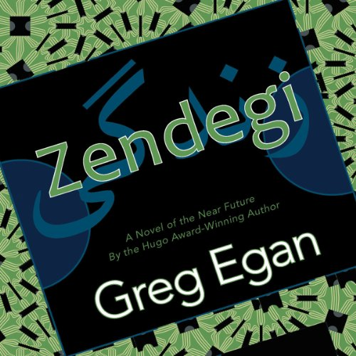 Zendegi audiobook cover art