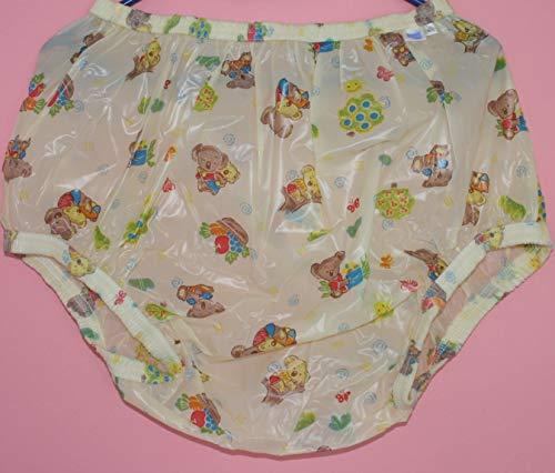 PVC Adult Baby Inkontinenz Windelhose Gummihose Koala Bärchen (XL)