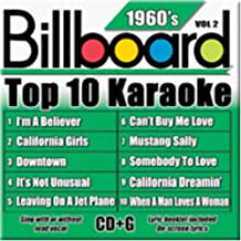Billboard Top-10 Karaoke – 1960's Vol. 2 (10+10-song CD+G)