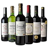 高評価ボルドー6本セット 当たり年金賞赤3本&90点オーバー2本入り 辛口 フランス ワイン 飲み比べ ワインセット ギフト (6本セット Amazon出荷)