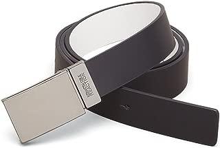 Men's Beaded Plaque Buckle Belt