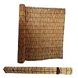 L-DREAM Persiana Enrollable De Bambú 140cm para Exterior Jardín Patio, Cortinas Opacas, Fresco Y Ventilació, Fácil De Instalar, Estor Enrollables De Madera para Ventanas