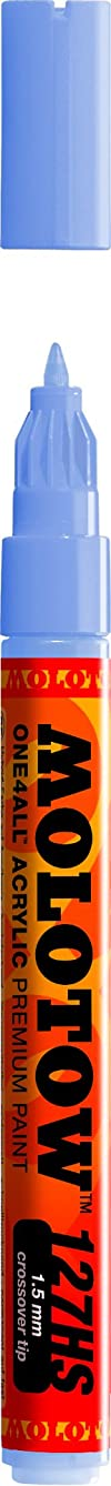 Molotow ONE4ALL Acrylic Paint Marker, 1.5mm, Blue Violet Pastel, 1 Each (127.428)