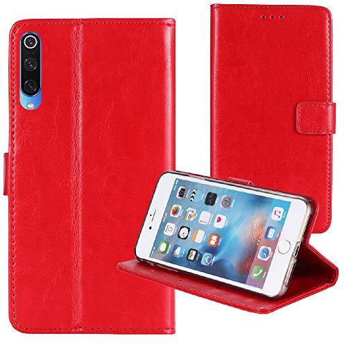 TienJueShi Rot Retro Business Flip Book Stand Brief Leder Tasche Schütz Hülle Handy Case Für XGODY P30 6 inch Abdeckung Wallet Cover Etui