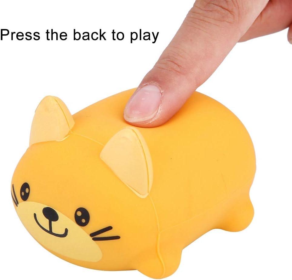 Leuk geen giftig muziekspeelgoed, muzikaal speelgoed, voor het decor van het speelgoedhuis(dog) dog