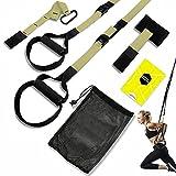Suspension Training,Suspension Trainer Set,Sling trainer,Workout Set per Fitness Body Trainin,Cinghie per Sospensione Regolabile,Allenamento Sospensione,Fascia fitness