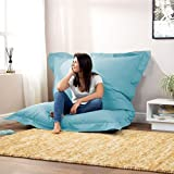 ink craft Large Washable Memory Foam Furniture Bean Bag Chair Cover without Bean
