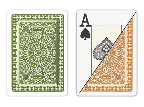 DA VINCI Italian 100% Plastic Playing Cards,...
