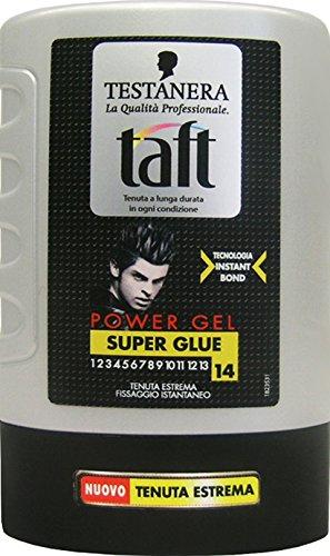 Taft Lot de 6 gels pour cheveux super glue 300 ml