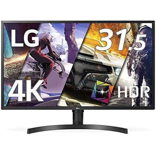 LG モニター ディスプレイ 32UK550-B 31.5インチ/4K/HDR10/VA非光沢/HDMI×2、DP/FreeSync/スピーカー/高さ...