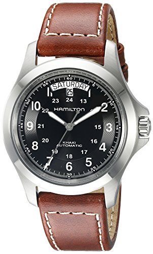 Hamilton Men's H64455533 Khaki King Series...