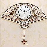 WJBH時計壁時計リビングルーム現代のミニマリスト雰囲気ぶら下げテーブル人格クリエイティブ時計ファッションホーム中国風クォーツ時計の高さ70センチ幅76センチ