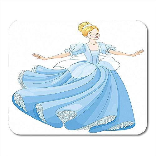 Muiskussens prinses de koninklijke bal dans van Assepoester sprookje jurk mooie muis pad 25X30cm