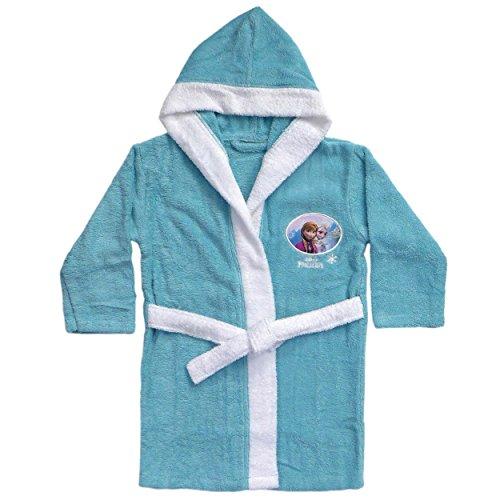 Disney Frozen 042540–Albornoz de Rizo Snow, algodón, 2/4años, 86–104cm
