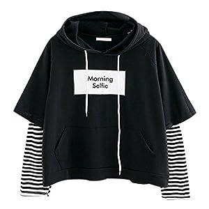 OverDose mujer De Moda De OtoñO De Manga Larga del CorazóN Impreso Jersey Blusa Moda Tops Mejor Venta Camiseta Larga Sudadera