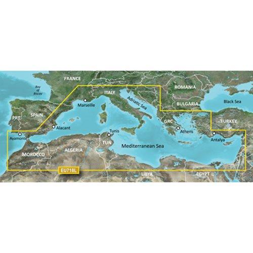 Garmin BlueChart g2 HEU718L - Software de navegación (Mar M