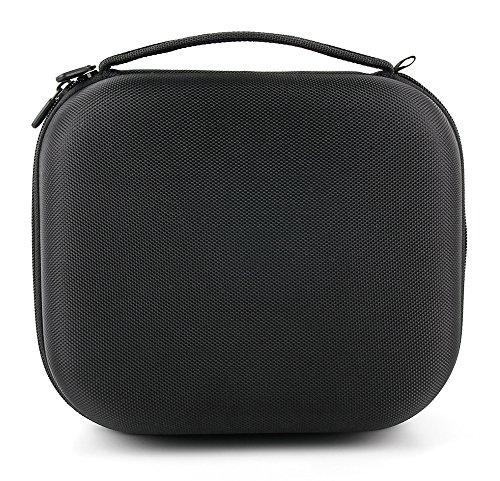 DURAGADGET Matte Black Tough EVA Storage Case (Headphones NOT Included) - Compatible with Philips Fidelio X2   M1BT   M2BT   NC1L Headphones