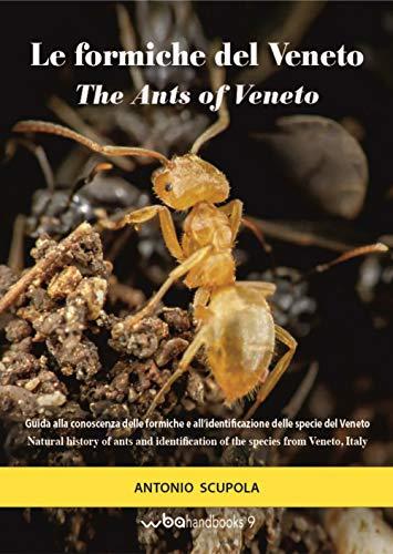 Le formiche del Veneto. Guida al riconoscimento delle specie con note di mirmecologia generale-The ants of Veneto. Guide to recognition of species with notes of general myopecology