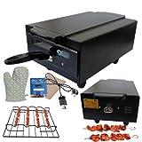 Hot Life Big XXL Model H-2 Home & Kitchen 2000W Pizza Maker & Food Warmer Electric tandoor (Black) 2 Year warrenty for Heating Element