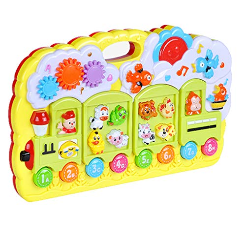 Affordable Homefami Multi-function Music Electronic Piano Infant Early Childhood Educational Toy 13....