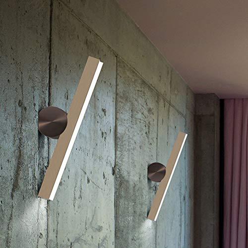Kaper Go Américain Postmoderne Style Minimaliste Salon Chambre Chevet Hôtel LED Applique Miroir Phares Feux Muraux