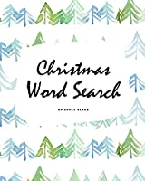 Christmas Word Search Puzzle Book - Medium Level (8x10 Puzzle Book / Activity Book)
