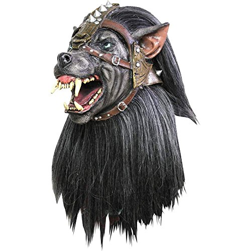 Masque loup guerrier adulte