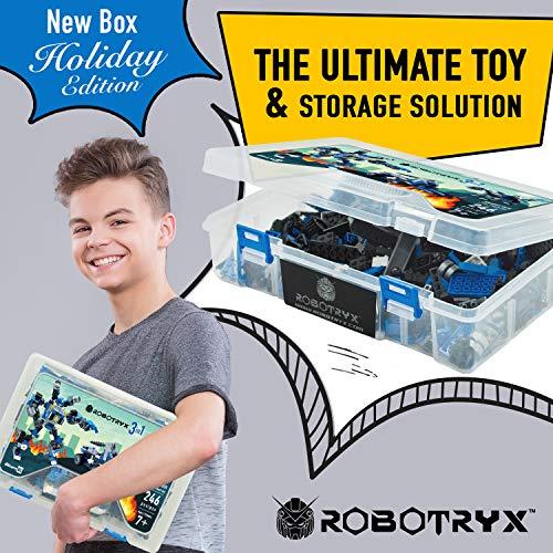 JITTERYGIT Robot Jouet | 3 en 1 Set...