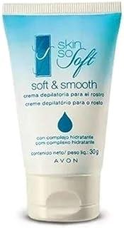 Avon Creme Depilatório Rosto Skin So Soft com Complexo Hidratante - 30g