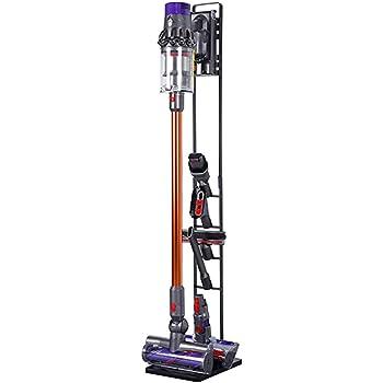 Meijunter Soporte de suelo para Dyson V6 V7 V8 V10 Aspirador inalámbrico - Soporte de Suelo Independiente,Cepillo Kit de Accesorios Almacenamiento Shelf: Amazon.es: Hogar