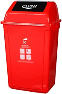 C-J-Xin Park Garbage Sorting Box, Large Shatterproof Plastic Dustbins Recycling Bins Durable Design for Patio, Yard Trash...