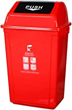 C-J-Xin Park Garbage Sorting Box, Large Shatterproof Plastic Dustbins Recycling Bins Durable Design for Patio, Yard Trash ...