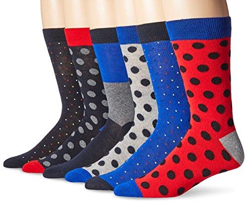 Ben Sherman Men's Bss Frederick/Geoffrey, Blue/Royal, Sock Size: 10-13/Shoe Size:9-11