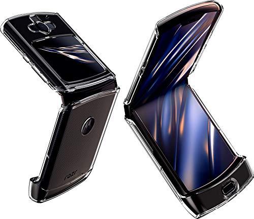 Spigen Ultra Hybrid Hülle Kompatibel mit Motorola Razr -Crystal Clear