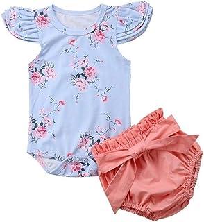 Wang-RX Reizendes neugeborenes Baby-M/ädchen-Kleidungs-Karikatur-Bodysuit-Frucht-Erdbeerananas-Ausstattungs-Ostern-Kost/üm f/ür Baby