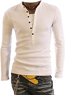 afacce9080 Amazon.it: maglia con bottoni - T-shirt, polo e camicie / Uomo ...