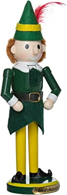 "Kurt Adler 11"" Wooden Buddy the Elf Nutcracker"