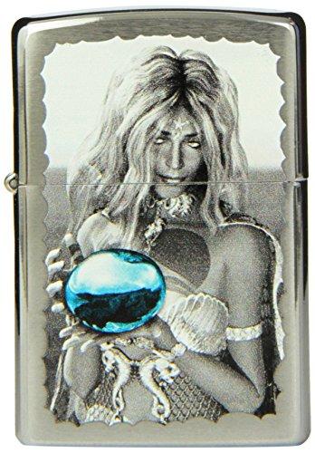 Zippo Woman Lighter, Brushed Chrome