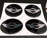 Zoom IMG-1 adesivi coprimozzi mini cooper 54mm