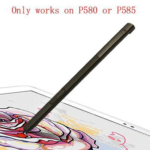Lápiz Capacitivo Touch Stylus S Pen De Repuesto para Galaxy Tab A 10.1 2016 SM-P580 P580 P585 (No Puedo Trabajar en T580 y T585) Negro
