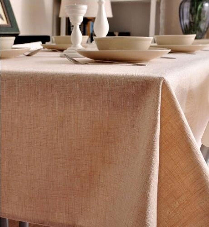 BlauLSS Anpassbare 3D-Tischdecke Flower House Street Meer Muster waschbar Verdicken rechteckige und runde Tischdecke für Hochzeit, Farbe 1.140 x 140 cm