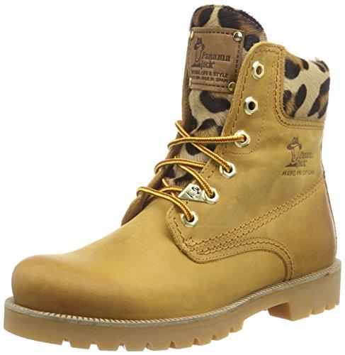 Panama Jack Panama 03 Leopardo dames warm gevoerd biker boots korte laarzen & laarzen